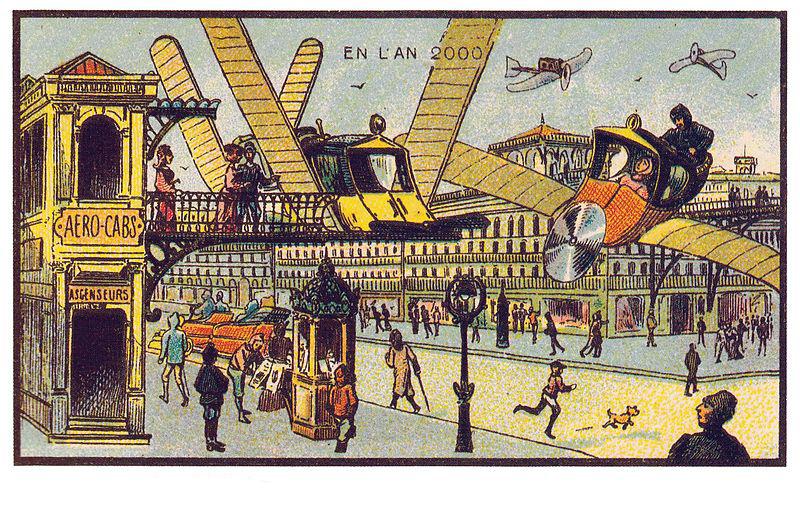 légitaxi - ilyennek képzelték Franciaországot