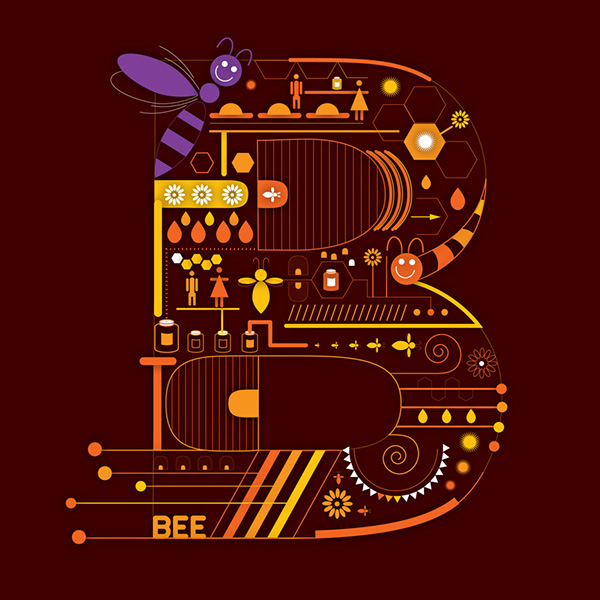 méhecske - abc