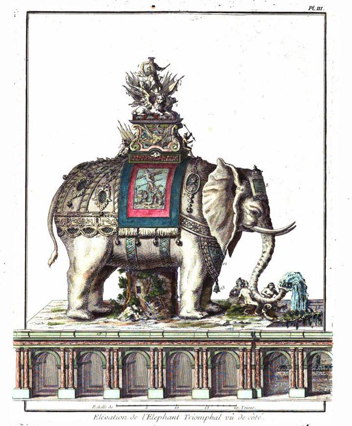 Charles-François Ribart terve - Párizs - különleges emlékmű a Diadalív helyén