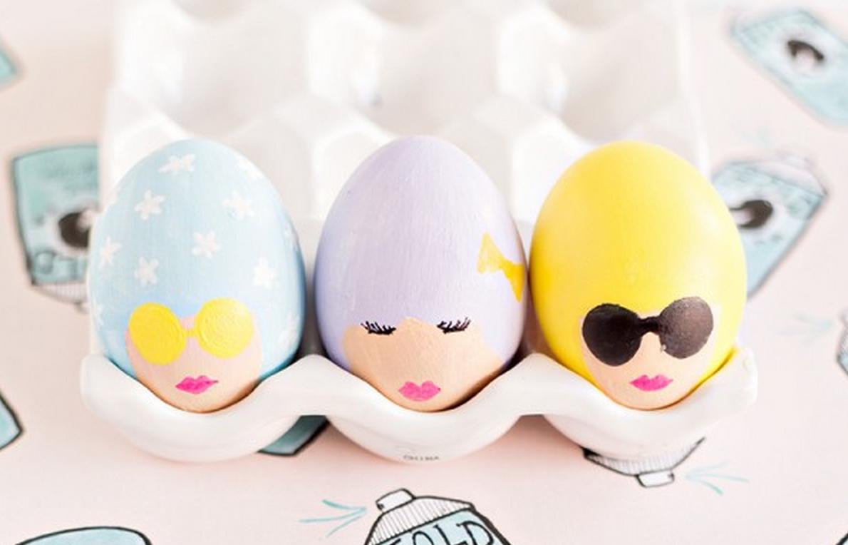 a lányok - különleges húsvéti tojás