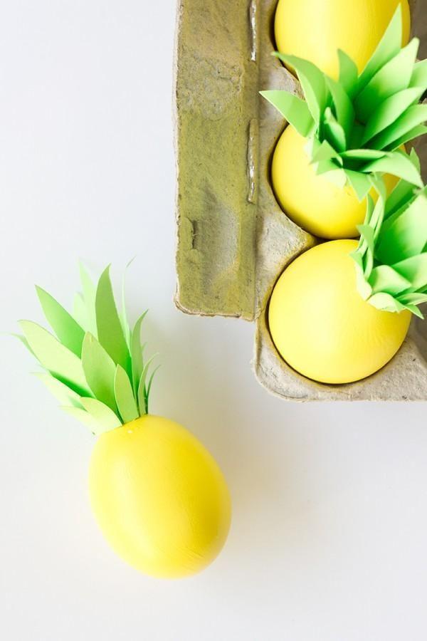 ananász húsvéti tojás - ötletek