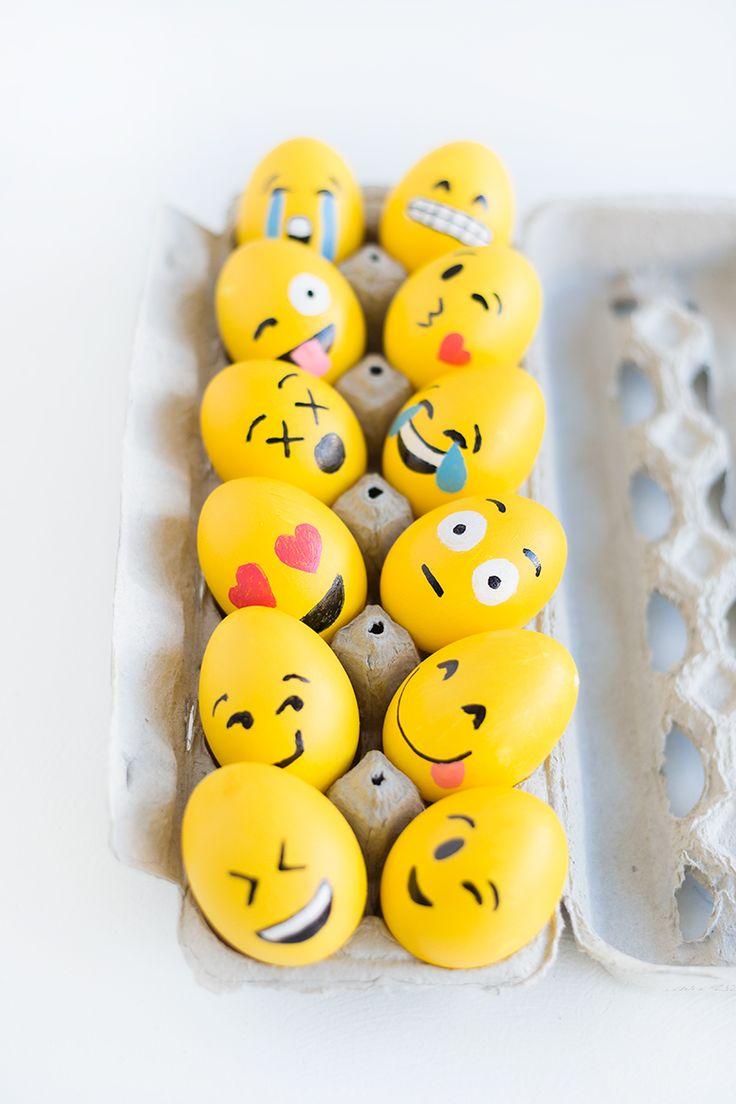 emótikon - trendi húsvéti tojások