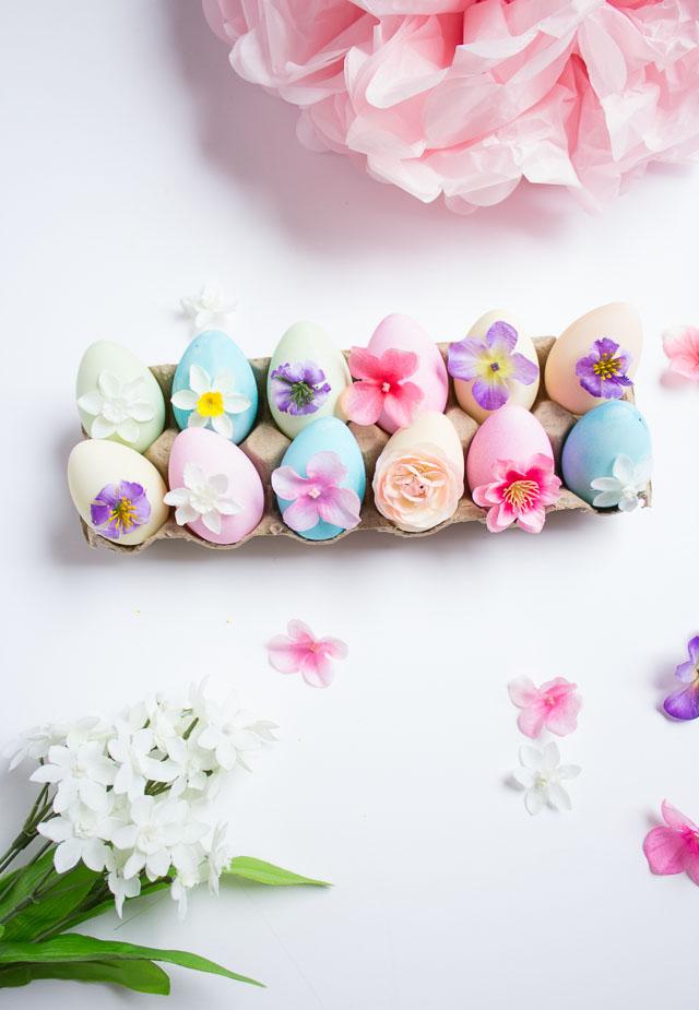 tavaszi virágok - különleges húsvéti tojások