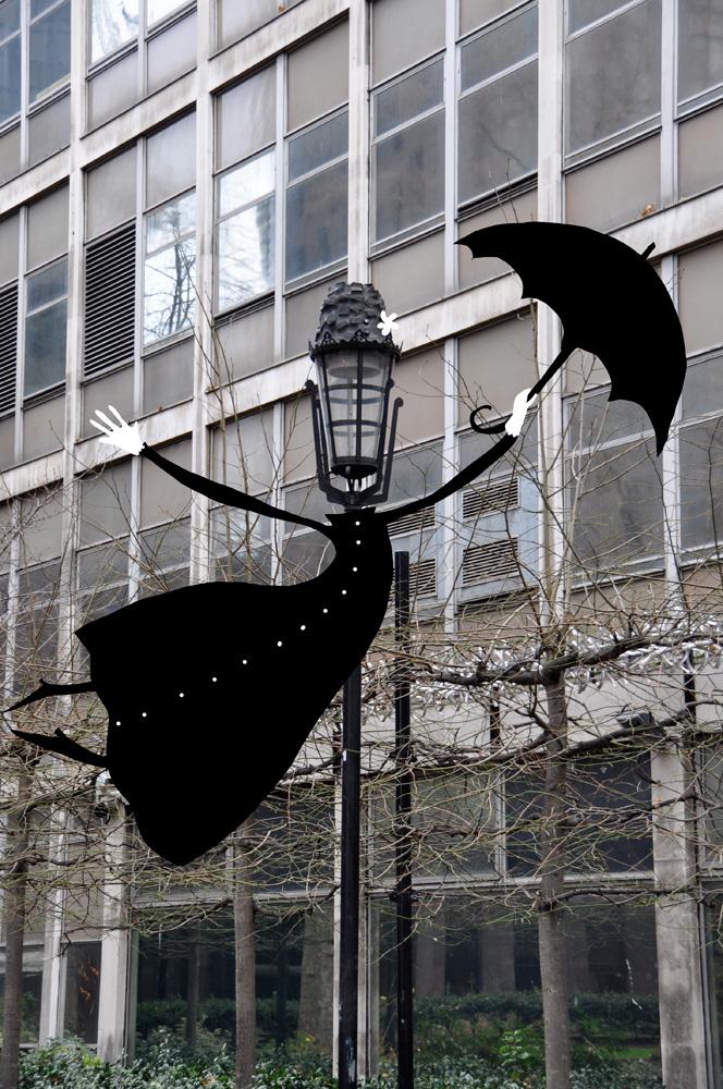 Mary Poppins Londonban -  Sandrine Boulet különleges városképei