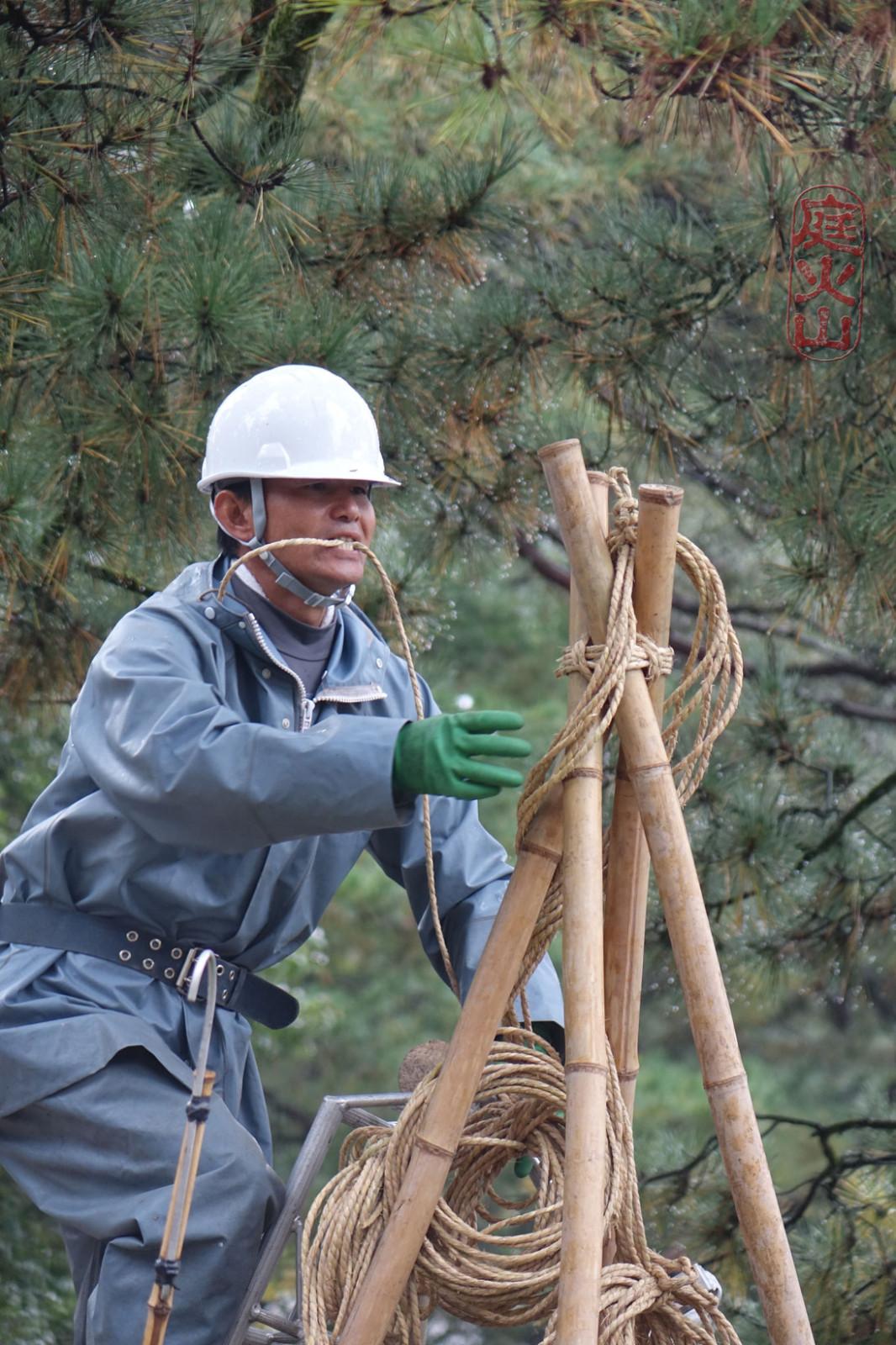 a yukitsuri építése