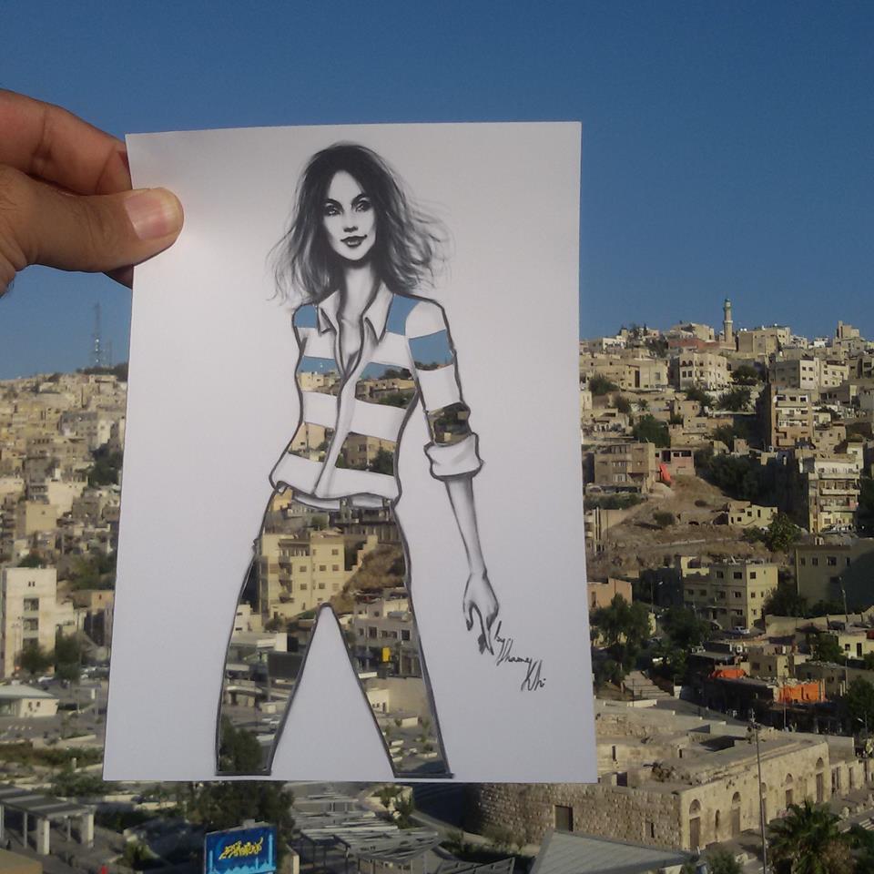 Ammán, Jordánia fővárosa - divatrajzokon
