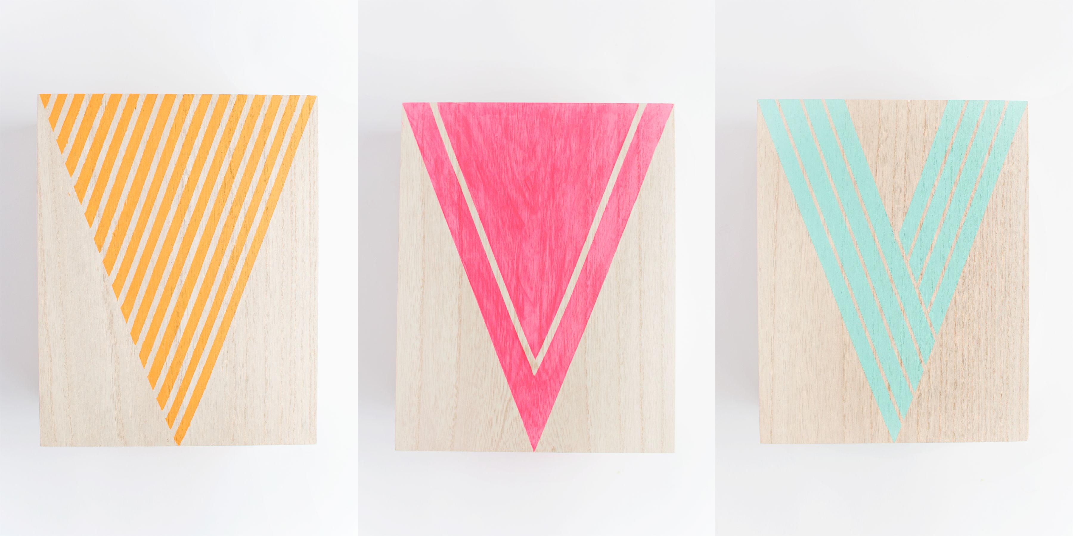 háromszögek a szobádban