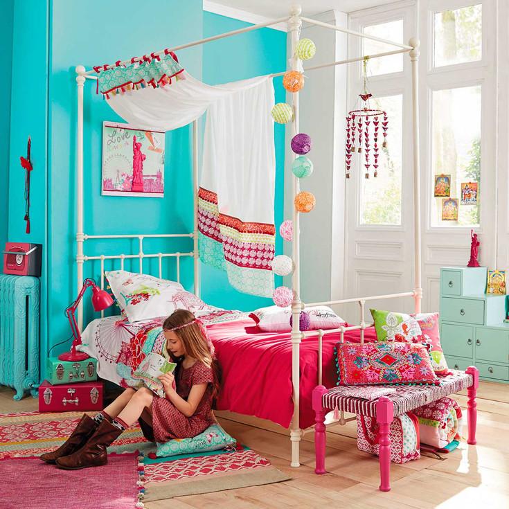 színes ötletek tini-és gyerekszobába