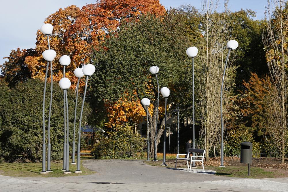 park - Svédország