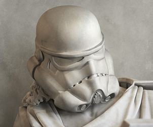 Ókori Star Wars szobrok