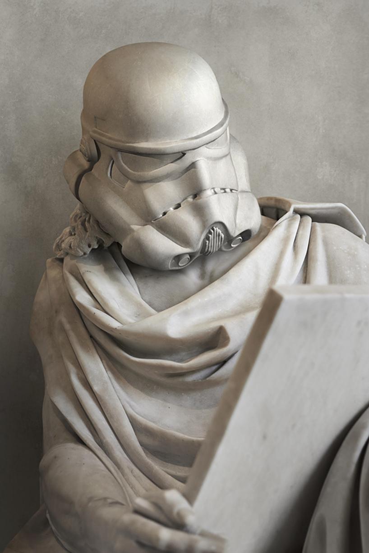 görög szobrászat és a star wars