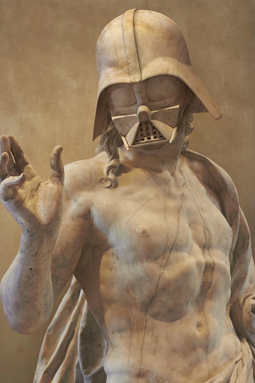 star wars szereplők görög szoborként