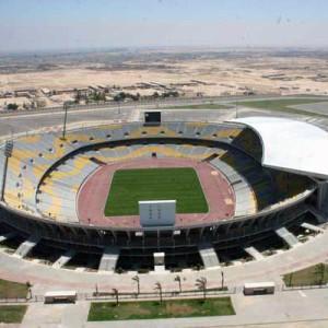 Borg El Arab Stadion - Alexandria, Egyiptom