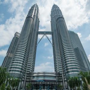 Petronas-ikertorony - Kuala Lumpur, Malajzia