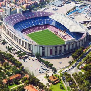 Camp Nou - Barcelona, Spanyolország