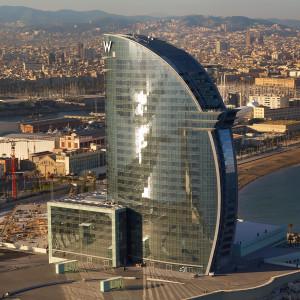 W Barcelona Hotel - Barcelona, Spanyolország