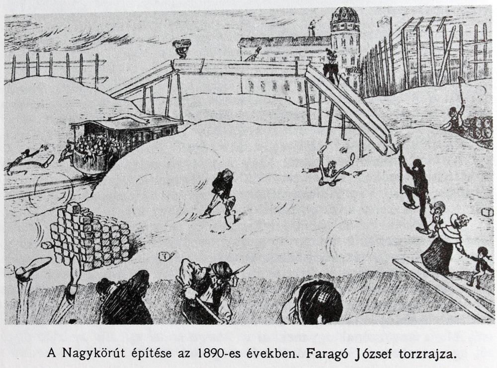 1896. augusztus 31-én volt a Nagykörút ünnepélyes átadása. Miért volt szüksége a fővárosnak erre a több, mint 4 km hosszú útszakaszra?