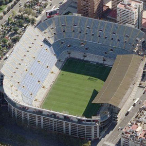 Mestalla - Valencia, Spanyolország