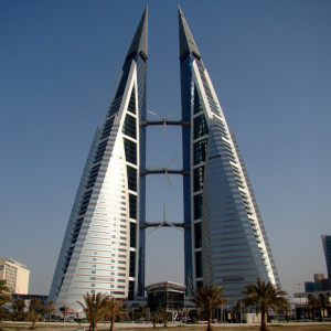 Bahrain World Trade Center - Manama, Bahrein