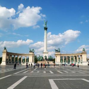 Millenniumi emlékmű - Hősök tere, Budapest