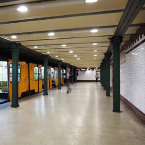Millenniumi Földalatti Vasút azaz a Kisföldalatti - Budapest